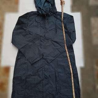 Polka dot stylish raincoats jacket