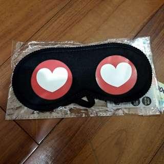 🚚 全新/* 愛心眼罩