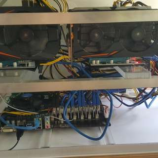 MINING RIG- GTX1060 GTX1050 ti OC