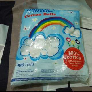 Pureen Cotton Wash Ball