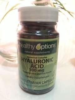 Healthy Options Hyaluronic Acid