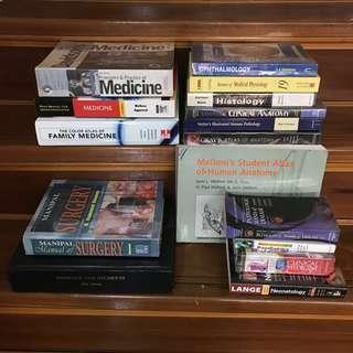 Medical Books - detailed description in info.