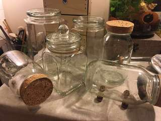 Glass Container x 15 pieces