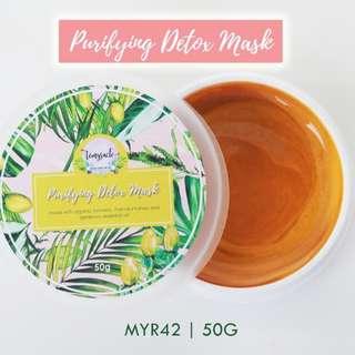 Organic Homemade Detox Mask Turmeric & Manuka Honey