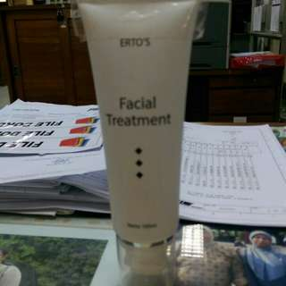 Erto's facial tratment