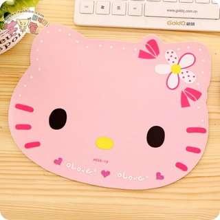 (現貨)kitty頭型滑鼠墊