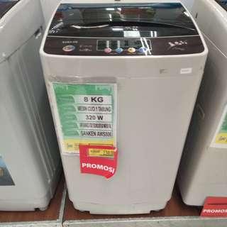 Mesin cuci sanken aws-806 bisa dicicil cepat