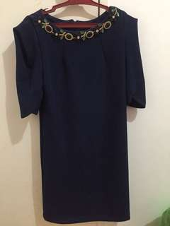 Karimadon Navy Blue Dress