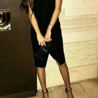 黑色性感洋裝