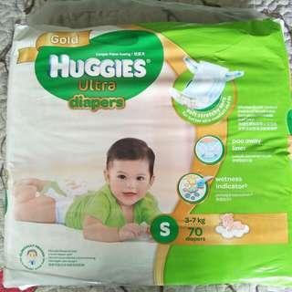 Huggies Gold Ultra Diaper S size