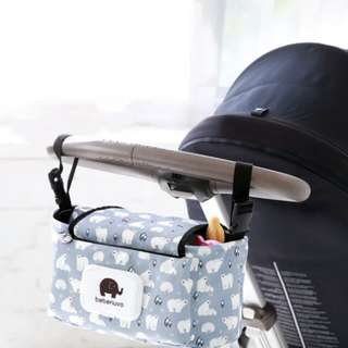 Multifunction portable stroller bag