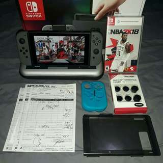 Nintendo switch with one game