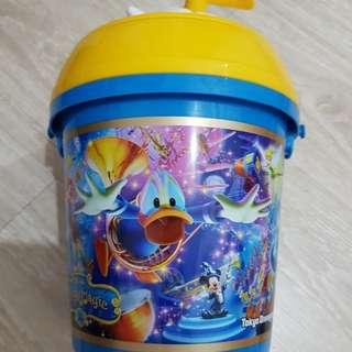 迪士尼樂園~ 唐老鴨 爆米花桶