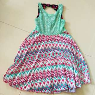 TWO SIDED DRESS