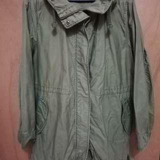 Uniqlo parka jacket