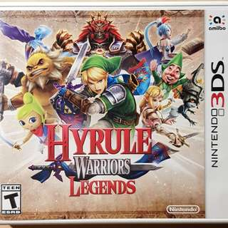 Nintendo 3ds N3Ds Games Hyrule Warrior Legend SALE TRADE SWAP Free COD and Ship
