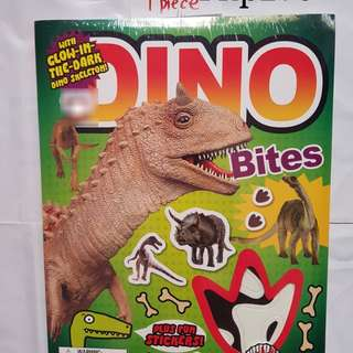 Dino bites activity book