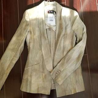 Sinéquanone Tailored Linen Blazer size 38 NWT  ($145)