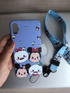 SoftCase tsumtsum for iphone X