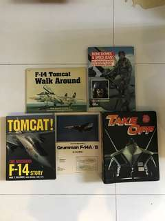 5 sets of aircraft publication /  books