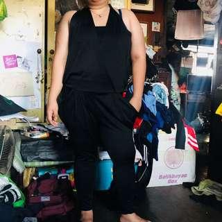23972f433e2 Plus size black jumpsuit