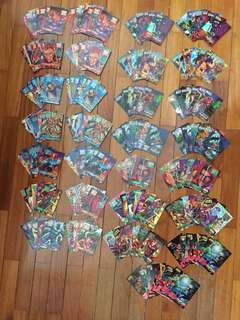 Marvel Overpower Cardgame 1995,1996 & 1997