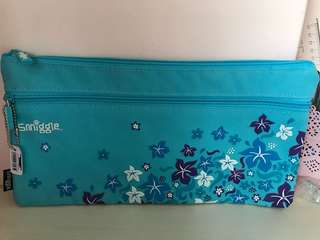 Smiggle Long Blue Pencil Case
