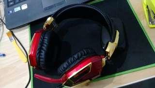 iron man 3 紀念版遊戲耳機