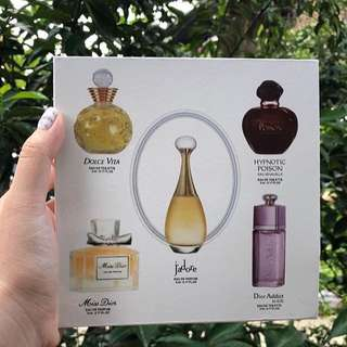 Parfume Miniature 5pcs