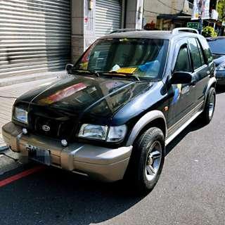 個人販售 2000 起亞 吉普車 4X4 2.0