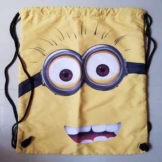 Minion Draw String Bag