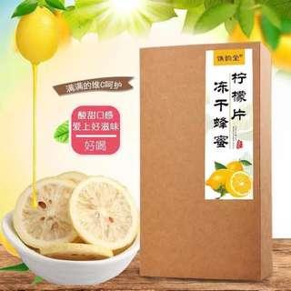 清涼一夏 龍立克消暑蜂蜜檸檬禮盒