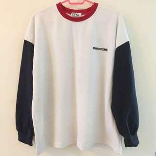 WEGO Oversized Pullover