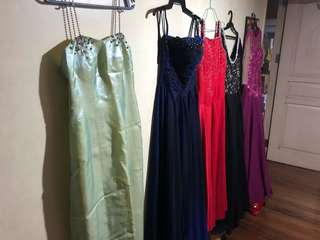 PRELOVED GOWNS