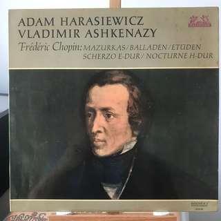 Chopin Piano Music Adam Harasiewicz, Ashkenazy, Heliodor 89646