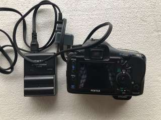 DSLR - Pentax K20D (Body Only) + Charger & Battery