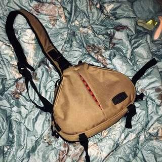 WW 單眼相機配件 斜背相機包 單肩後背包 超輕攜三角包