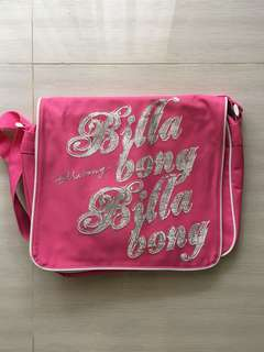Billabong Bright Pink Satchel
