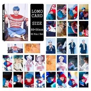 BTS Suga Lomo Cards