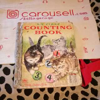 My First Counting Book - A Little Golden Book