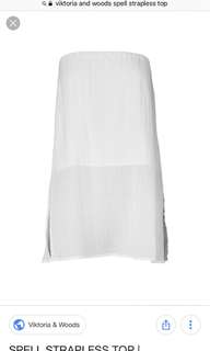 Viktoria and Woods Spell Strapless Top