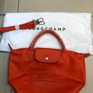 Longchamp Leather Victoire
