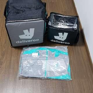 Deliveroo bag and jacket (SOLD)