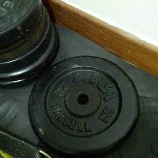 (2pcs) 10kg weight plate