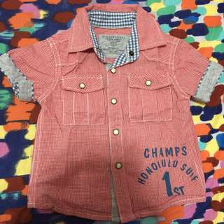 Gingersnaps vintage baseball polo shirt