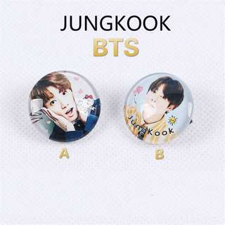 BTS Jungkook Button Badge