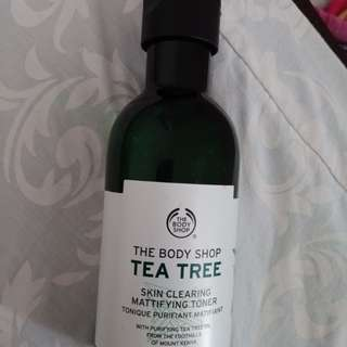 TONER TEA TREE BODY SHOP