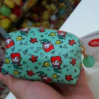 BN Japan Disney Store Ariel The Little Mermaid Coin Purse Pouch