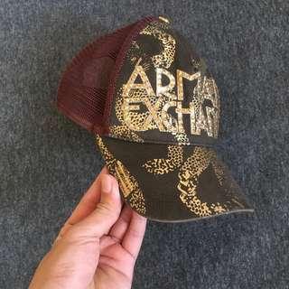 Armani exchange net cap