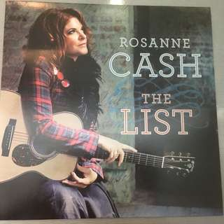 Rosanne Cash ‎– The List, Vinyl LP, Manhattan Records ‎– 509996 96576 1 0, 2009, USA